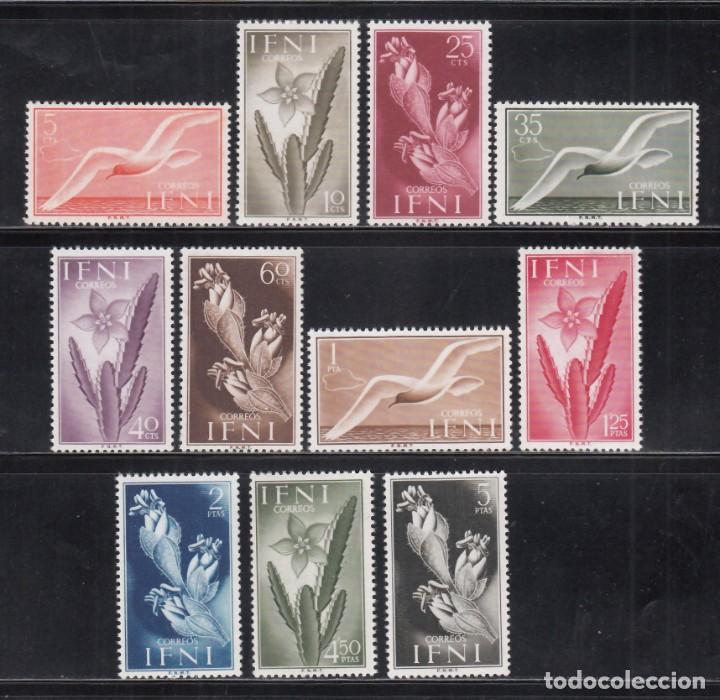 IFNI, 1954 EDIFIL Nº 103 / 113 /**/ FLORA Y FAUNA, (Sellos - España - Colonias Españolas y Dependencias - África - Ifni)