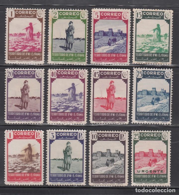 IFNI, 1943 EDIFIL Nº 16 / 27 /**/, NÓMADAS. (Sellos - España - Colonias Españolas y Dependencias - África - Ifni)