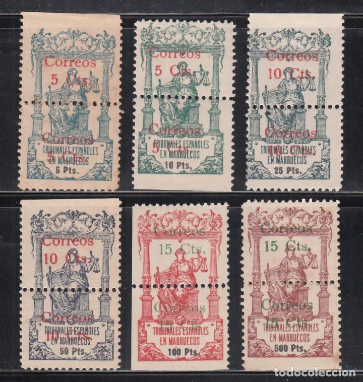 MARRUECOS, 1920 EDIFIL Nº 68 / 73 /*/ (Sellos - España - Colonias Españolas y Dependencias - África - Marruecos)