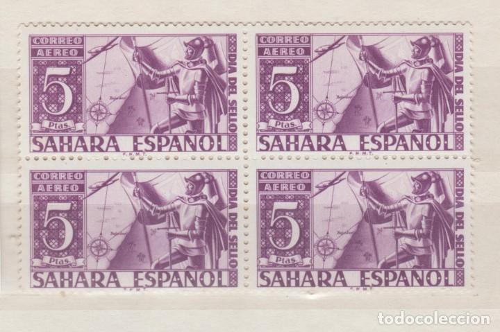 ESPAÑA, 1950,BLOQUE DE 4 DEL EDIFIL 86. (Sellos - España - Colonias Españolas y Dependencias - África - Sahara)