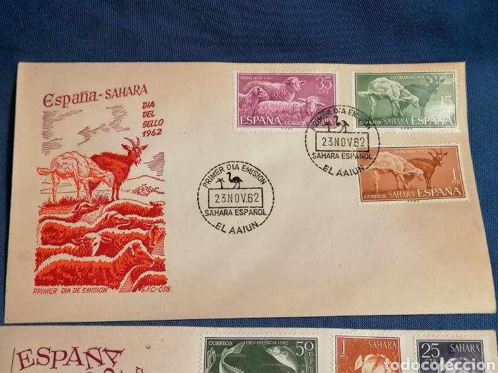 Sellos: España ExColonias Sàhara, sobres Fauna - Foto 2 - 277850298