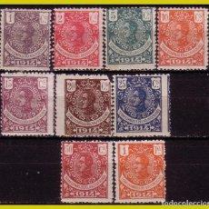 Sellos: GUINEA 1914 ALFONSO XIII, EDIFIL Nº 98 A 108 SIN 105 NI 106 *. Lote 278477788