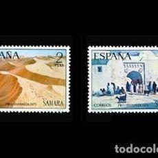 Sellos: SAHARA EDIFIL 310-311 NUEVOS SIN CHARNELA MNH ** 1973 PRO-INFANCIA. PINTURAS. Lote 278848938