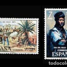 Sellos: SAHARA EDIFIL 312-313 NUEVOS SIN CHARNELA MNH ** 1973 PINTURAS. Lote 278848953