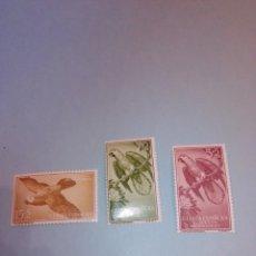Sellos: GUINEA 1957 365 367. Lote 278920158