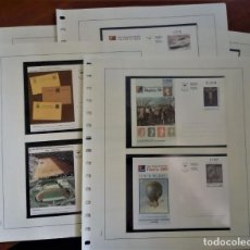 Sellos: COLECCION ENTERO TARJETAS POSTALES GUINEA ECUATORIAL EDIFIL 1 A 9 CATALOGO 283 EUROS VER IMÑÁGENES. Lote 279380083