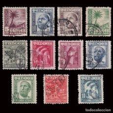 Timbres: TANGER 1948-1951.INDÍGENA Y PAISAJES.LOTE 11 USADO. EDIFIL.153-162 / 164. Lote 279454268