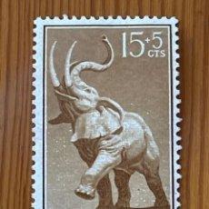 Sellos: GUINEA, DIA DEL SELLO, 1957, EDIFIL 370, NUEVO**. Lote 279512948
