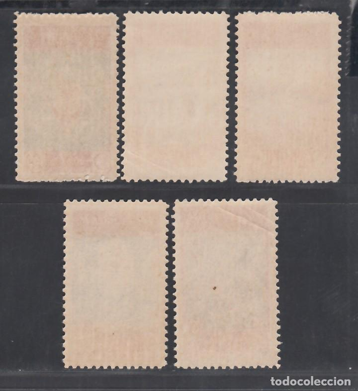 Sellos: MARRUECOS, 1946 EDIFIL Nº 270 / 274 /**/, SIN FIJASELLOS - Foto 2 - 280835028