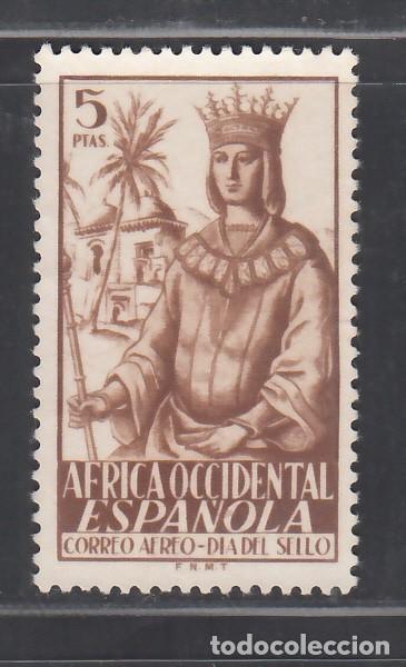 ÁFRICA OCCIDENTAL. 1949 EDIFIL Nº 2 (*) (Sellos - España - Colonias Españolas y Dependencias - África - África Occidental)