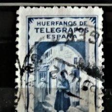 Sellos: FISCAL HUERFANOS DE TELEGRAFOS OFICINA DE TANGER. Lote 283683268