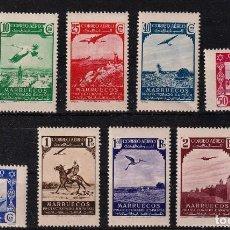 Sellos: ESPAÑA.MARRUECOS EDIFIL Nº186-95.SERIE COMPLETA.NUEVOS MNH.MAGNIFICOS.. Lote 284237478