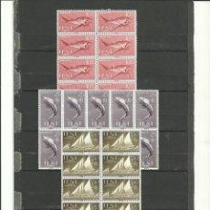 Sellos: MARRUECOS-IFNI-149/51 DIA DEL SELLO 10 SERIES NUEVOS SIN FIJASELLOS (SEGÚN FOTO). Lote 285630028
