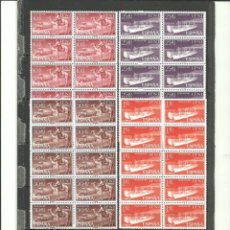 Selos: MARRUECOS-IFNI-183/86 DIA DEL SELLO TRANSPORTES 10 SERIES NUEVOS SIN FIJASELLOS (SEGÚN FOTO). Lote 285631818