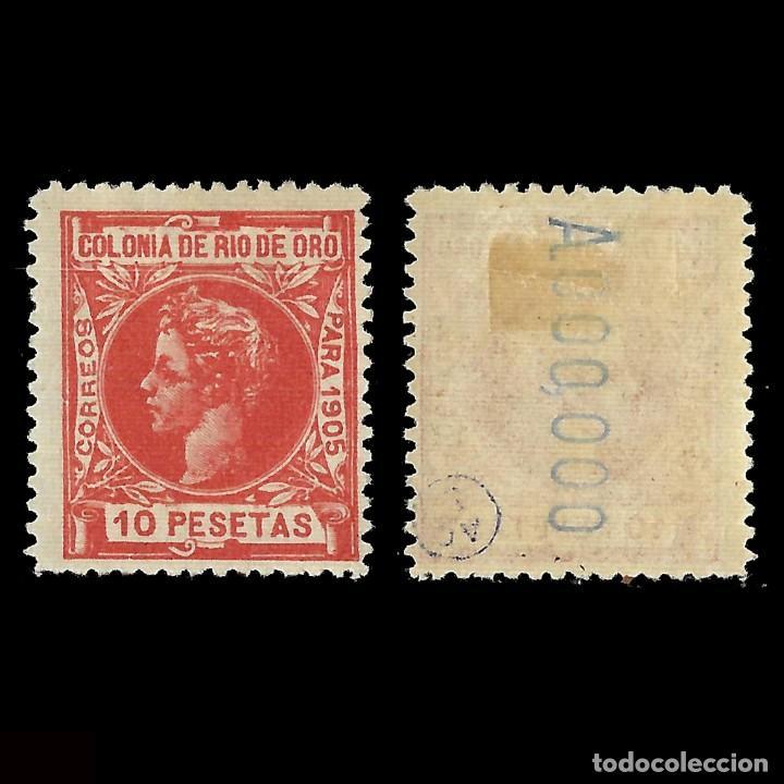 RÍO DE ORO.1905.ALFONSO XIII.10P MH.Nº 000 000.EDIFIL 16 (Sellos - España - Colonias Españolas y Dependencias - África - Río de Oro)