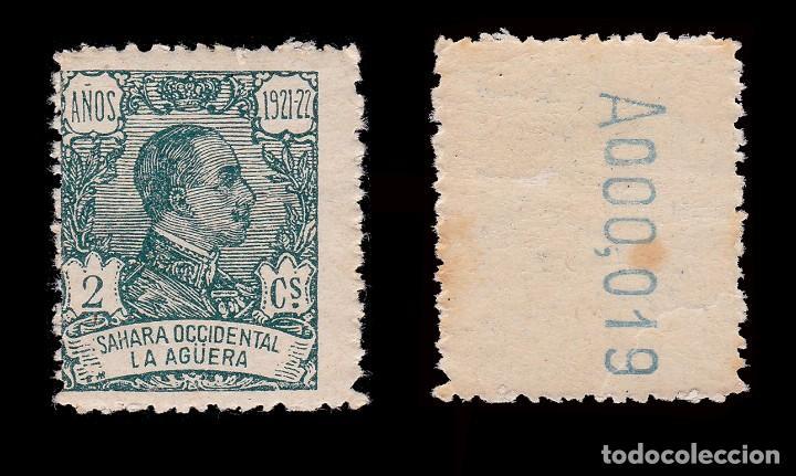 Sellos: LA AGÜERA.1923.Alfonso XIII. 2c.MNH. Edifil.15 - Foto 2 - 286189778