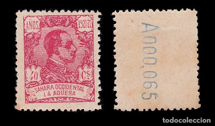 Sellos: LA AGÜERA.1923.Alfonso XIII.40c.MH. Edifil.22 - Foto 2 - 286190633