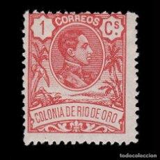 Sellos: RÍO DE ORO.1909. ALFONSO XIII.1C.MH.EDIFIL 41. Lote 286228878