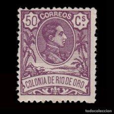 Sellos: RÍO DE ORO.1909. ALFONSO XIII.50C.MNH. EDIFIL 50. Lote 286229628
