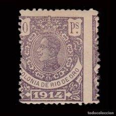Sellos: RÍO DE ORO.1914. ALFONSO XIII.10P.MH.EDIFIL 90. Lote 286309033