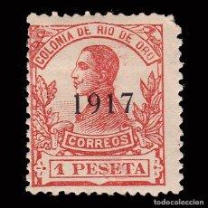 Sellos: ESPAÑA.RÍO DE ORO.1917. ALFONSO XIII.1P.MNH.EDIFIL 101. Lote 286312868