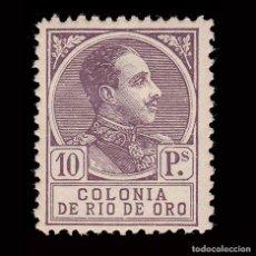 Sellos: RÍO DE ORO.1919. ALFONSO XIII.10P.MH.CENTRADO.EDIFIL 116. Lote 286314088