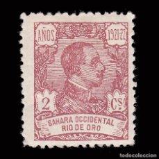 Sellos: RÍO DE ORO.1921. ALFONSO XIII.2C.MH.EDIFIL 131. Lote 286315168