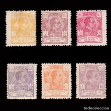 Sellos: ESPAÑA.RÍO DE ORO.1921. ALFONSO XIII.6 VALORES.MH.. Lote 286317898