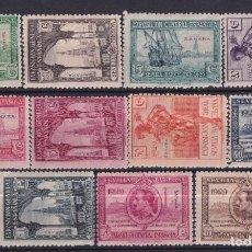 Sellos: SELLOS ESPAÑA OFERTA SAHARA AÑO 1929 EDIFIL 25*/35* VALOR DE CATALOGO 95 €. Lote 286562903