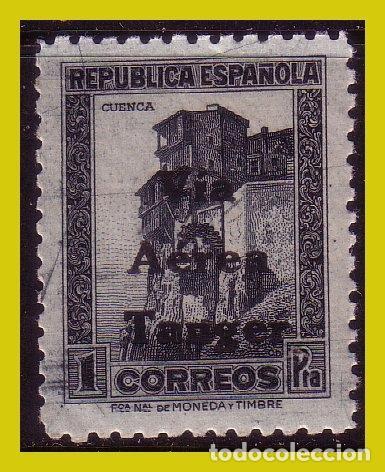TÁNGER 1938 SELLOS DE ESPAÑA HABILITADOS, EDIFIL Nº 138 * * (Sellos - España - Colonias Españolas y Dependencias - África - Tanger)