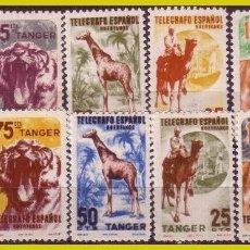 Sellos: TÁNGER, BENEFICENCIA, HUÉRFANOS TELÉGRAFOS, ANIMALES * *. Lote 286938618