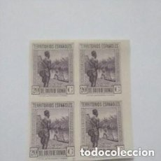 Sellos: 1932 ESPAÑA - GUINEA EDIFIL NE11C - BLOQUE 4 - MNH SIN GOMA - VALOR 328 €. Lote 287055818