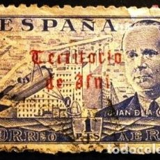 Sellos: SELLO DE IFNI DE 1949 JUAN DE LA CIERVA.. Lote 287141218