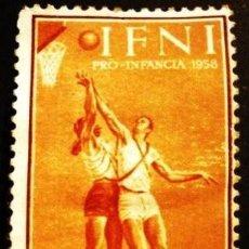 Sellos: SELLO DE IFNI, DE 1958. PRO INFANCIA. Lote 287245733