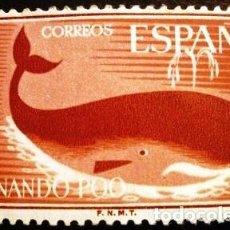 Sellos: SELLOS DE FERNANDO POO DE 1960. DÍA DEL SELLO. Lote 287343428
