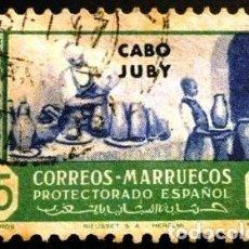 Sellos: SELLOS DE CABO JUBY. 1946. Lote 287552668