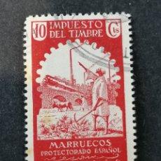 Sellos: ESPAÑA MARRUECOS SELLOS TAXAS TIMBRES NUEVO (SOMBRAS). Lote 287757643