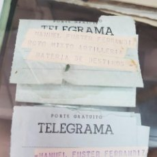 Selos: ANTIGUOS TELEGRAMAS SAHARA ESPAÑOL EL AAIUN REGIMIENTO ARTILLERIA. Lote 287881548