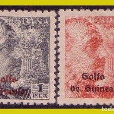 Sellos: GUINEA, 1942 SELLOS DE ESPAÑA HABILITADOS, EDIFIL Nº 269 Y 270 * *. Lote 288210458
