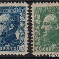 Selos: GUINEA ESPAÑOLA 1940, EDIFIL 261/62** ''GENERAL FRANCO''./ VER FOTO.. Lote 288682678