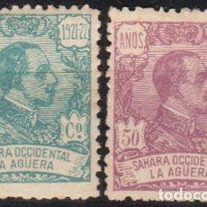 Sellos: LA AGÜERA 1923, EDIFIL 14**Y 23SG ''ALFONSO XIII''.. Lote 289575943