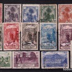 Sellos: ESPAÑA MARRUECOS Nº105-118.PAISAJES Y MONUMENTOS.COMPLETA.USADA.. Lote 289698833