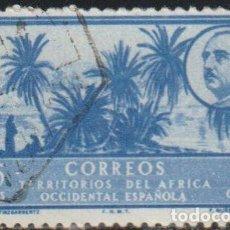 Sellos: AFRICA OCCIDENTAL ESPAÑOLA 1950 EDIFIL 12 SELLO º OASIS LAGUNA DE TINZGARRENTZ DESIERTO GRAL FRANCO. Lote 290533423