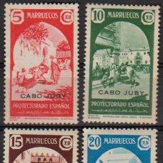 Sellos: CABO JUBY 1939, EDIFIL 112/15 ''MARRUECOS SOBRECARGADOS''./ VER DESCRIPCIÓN Y FOTOS... Lote 290862638