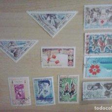 Sellos: SELLOS DE LA REPUBLICA DAHOMEY. Lote 292276083