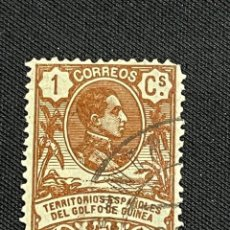 Sellos: GUINEA, 1909, ALFONSO XIII, EDIFIL 59, USADO. Lote 292599958