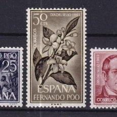 Sellos: SELLOS ESPAÑA OFERTA COLONIAS ESPAÑOLAS FERNANDO POO SERIE COMPLETA EN NUEVO. Lote 293356493