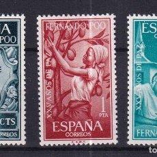 Sellos: SELLOS ESPAÑA OFERTA COLONIAS ESPAÑOLAS FERNANDO POO SERIE COMPLETA EN NUEVO. Lote 293356553