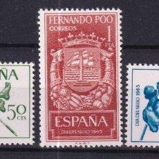 Sellos: SELLOS ESPAÑA OFERTA COLONIAS ESPAÑOLAS FERNANDO POO SERIE COMPLETA EN NUEVO. Lote 293356648