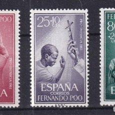 Sellos: SELLOS ESPAÑA OFERTA COLONIAS ESPAÑOLAS FERNANDO POO SERIE COMPLETA EN NUEVO. Lote 293356933